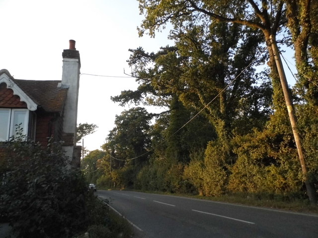Charlwood Road north of Ifield
