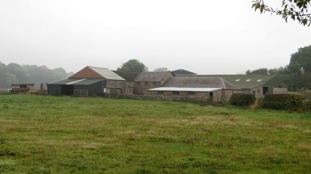 Farm buildings at Langton Mill