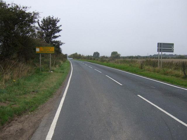 Entering North Lincolnshire