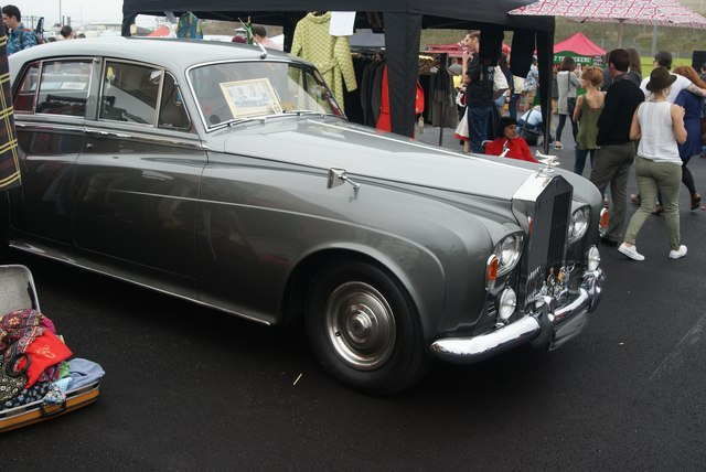 View of a Rolls Royce Phantom VI in the Classic Car Boot Sale #3