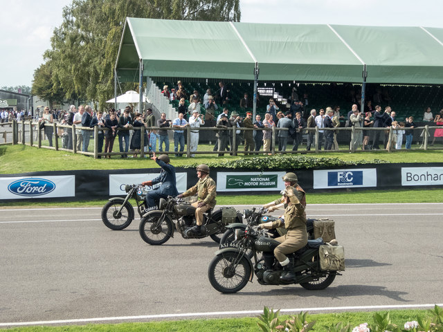 Goodwood Revival 2014 - World War Commemorative Parade