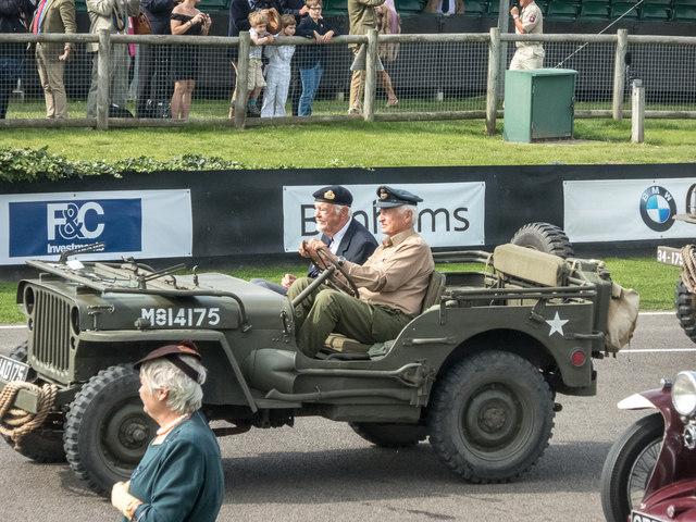 Goodwood Revival 2014 - World War Commemorative Parade