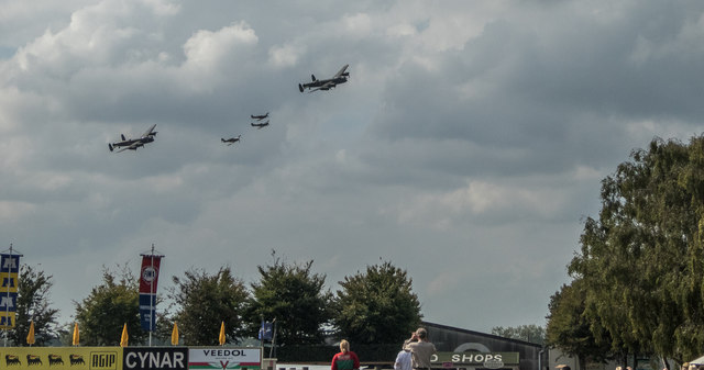 Goodwood Revival 2014 - Battle of Britain Memorial Flight
