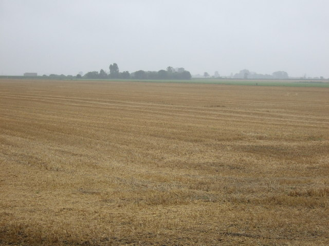Stubble field off Black Bank