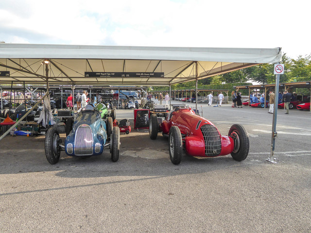 Goodwood Revival 2014 - The Paddock