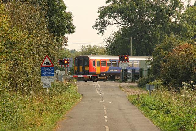Winthorpe level crossing