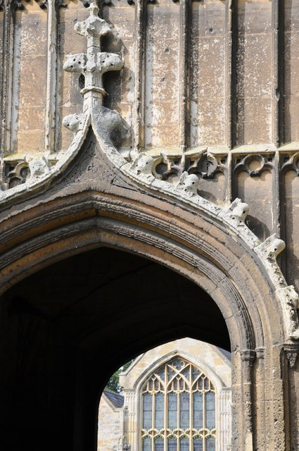 Arch on Abbey Tower