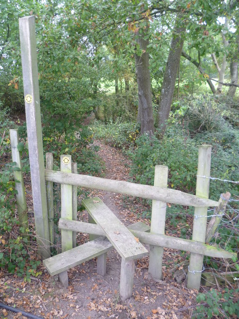 Footpath to Blowers Hill
