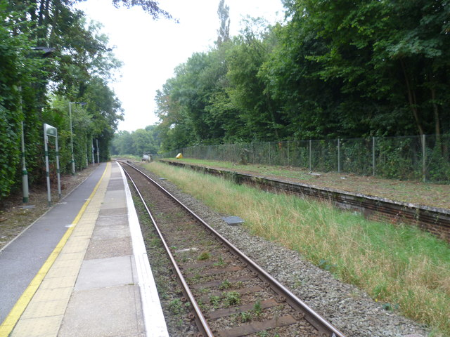 South from Cowden station