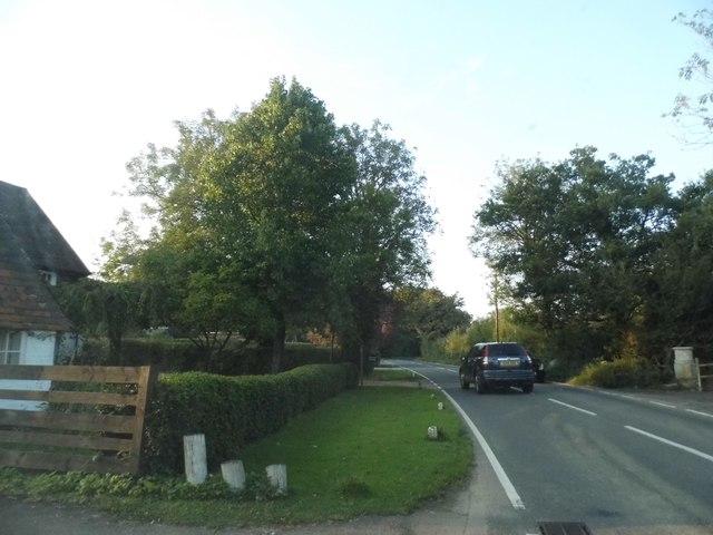 Ifield Road entering Charlwood