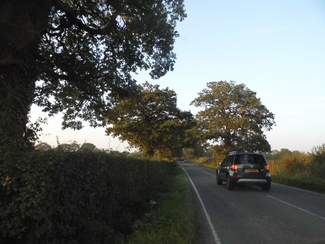 Smalls Hill Road approaching Leigh