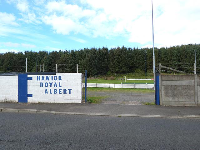Hawick Royal Albert Football Club