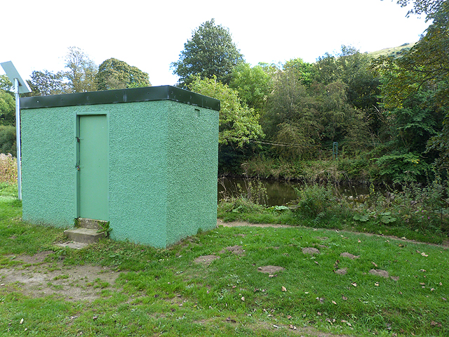 River monitoring station on the River Teviot