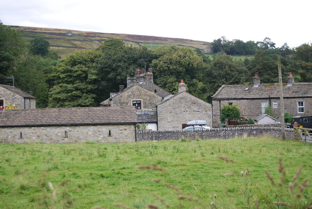 Hebden seen from Back Lane