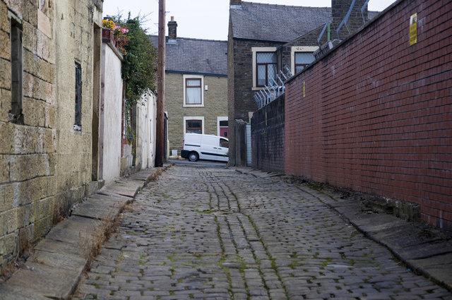 The back of Ramsbottom Street