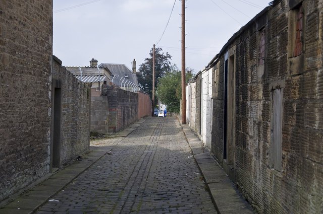 The back of Ramsbottom Street