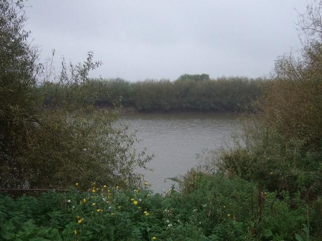 A glimpse of the River Trent