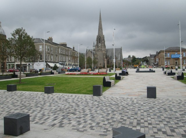 Colquhoun Square in Helensburgh
