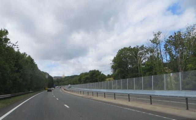 A499 nearing Newport