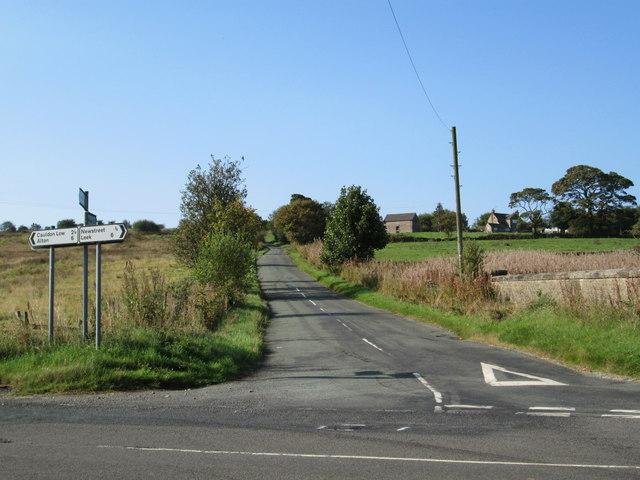 Crossroads near Winkhill