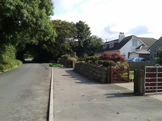 Houses near Treffry