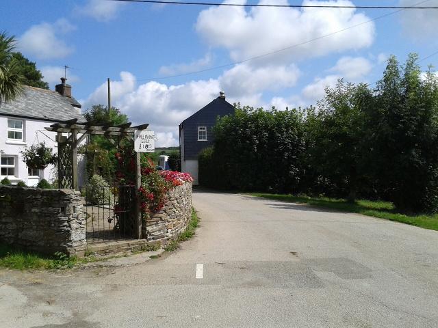 Road through Rosenannon