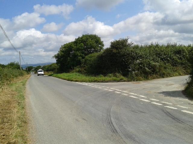 Junction near Burlawn