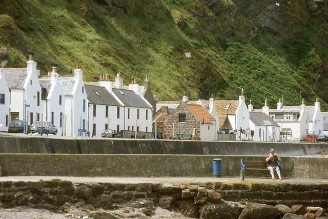 Pennan from the harbour