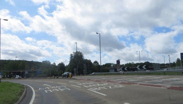 Onto the interchange
