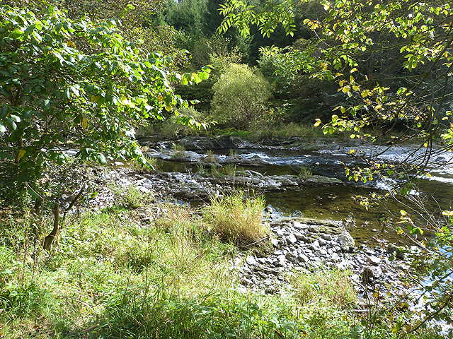 River Teviot above Hornshole Bridge