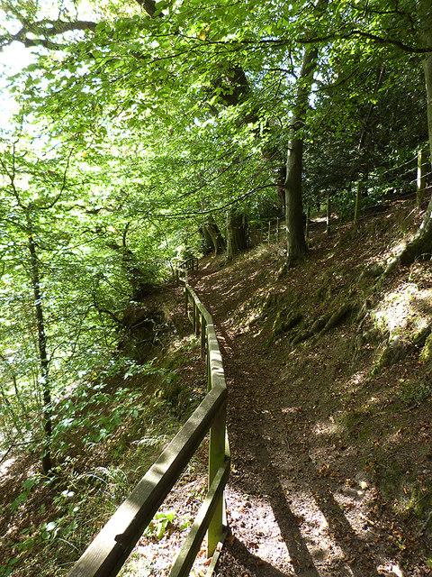 Border Abbeys Way by Hornshole Bridge