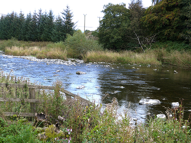 River Teviot by Midshiels