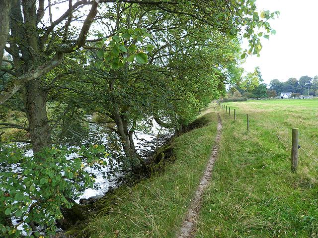 Border Abbeys Way at Midshiels