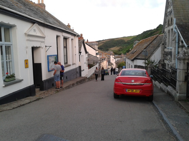 Road in Port Isaac