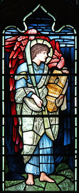 St Barnabas, Addison Road - Stained glass window