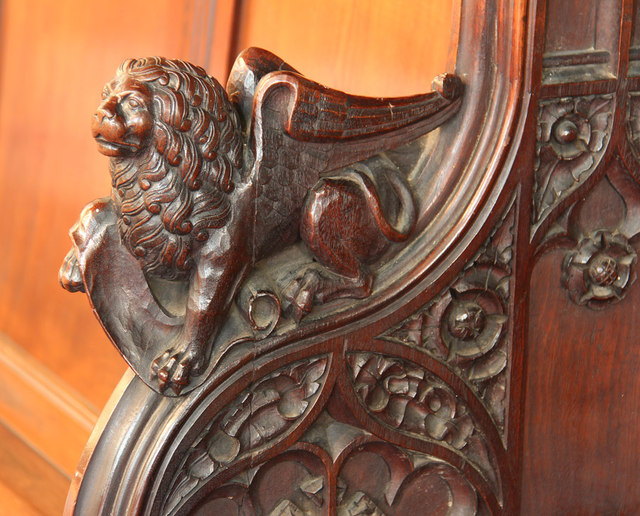 St Barnabas, Addison Road - Bench elbow