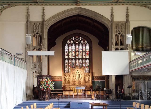 St Barnabas, Addison Road - Chancel