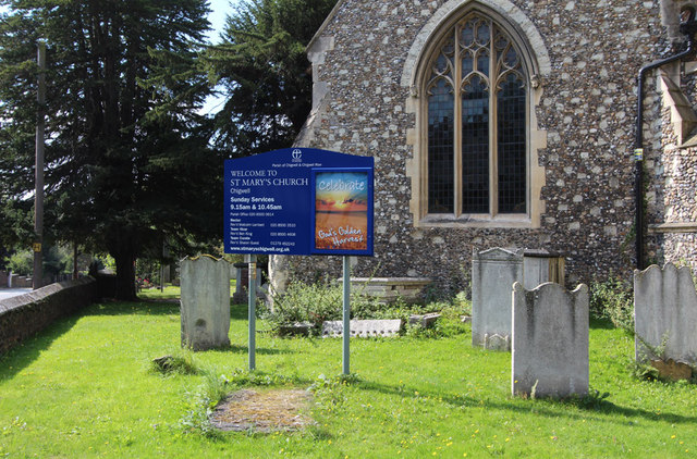 St Mary, Chigwell - Notice board