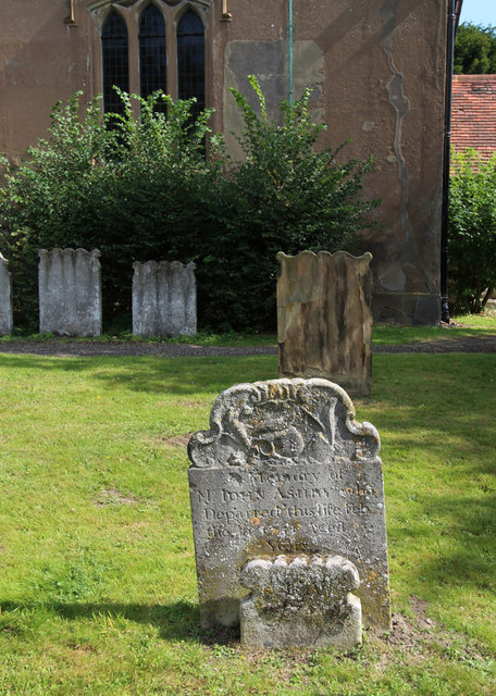 St Mary, Chigwell - Gravestone