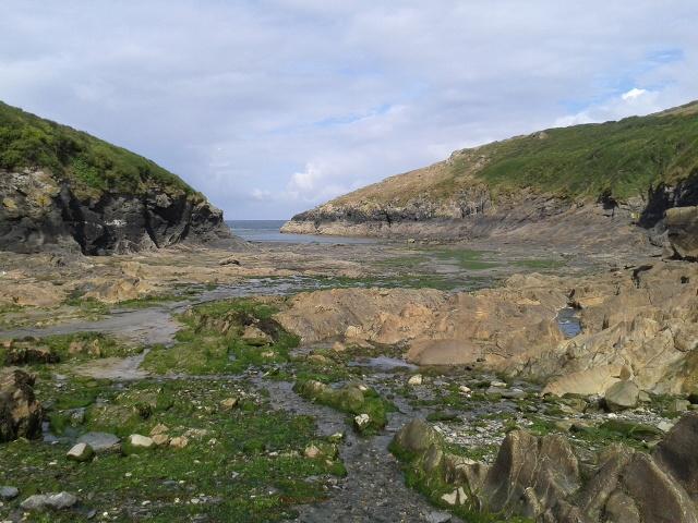 Port Quin at low tide