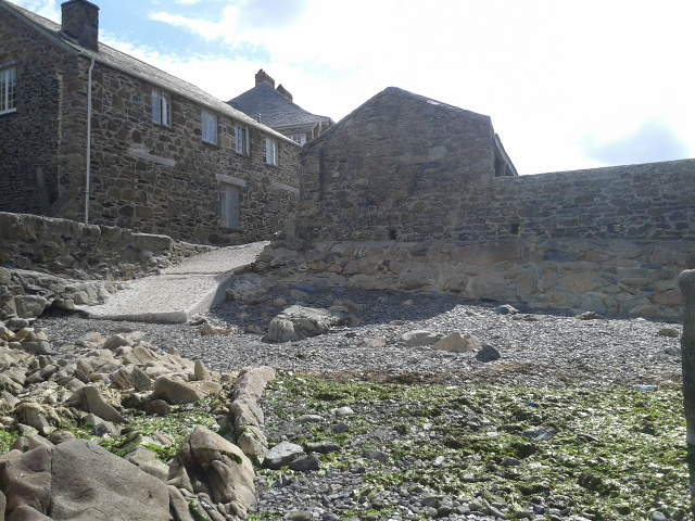Buildings at Port Quin