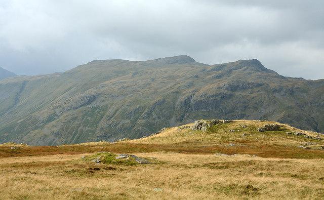 Rock exposures on ridge south of Sergeant's Crag