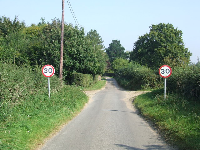Speed Restriction Signs