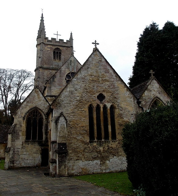 Grade I listed Church of St Andrew, Castle Combe