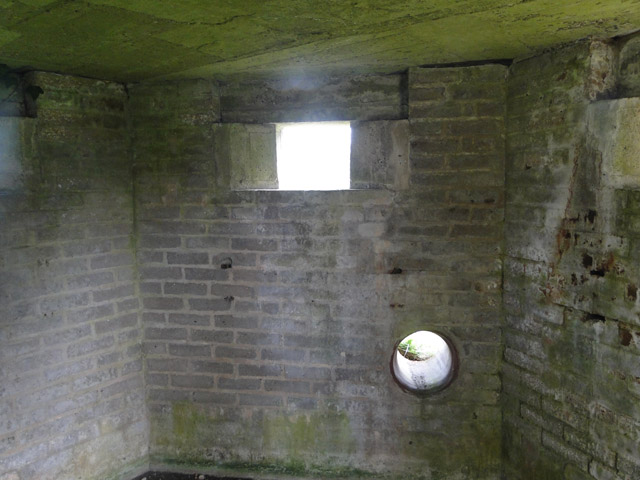 WW2 type FW3/22 pillbox (interior)
