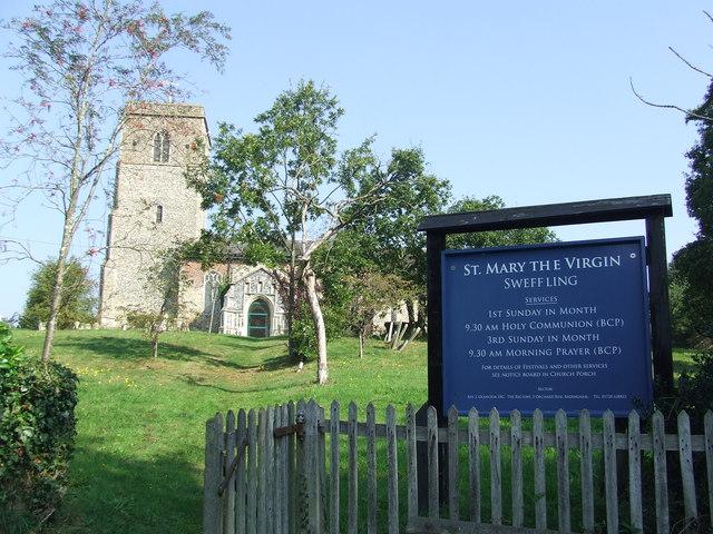 St Mary Sweffling