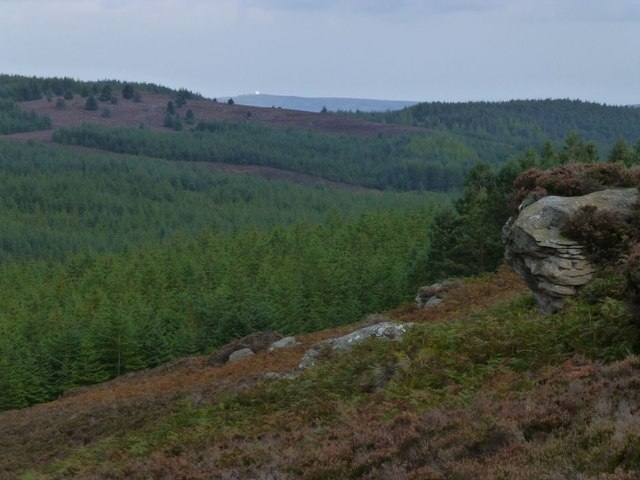 View from the crags under Long Crag