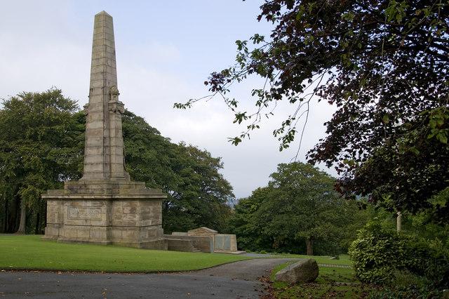 War Memorial, Oak Hill Park