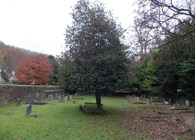 St Andrew's churchyard, Castle Combe