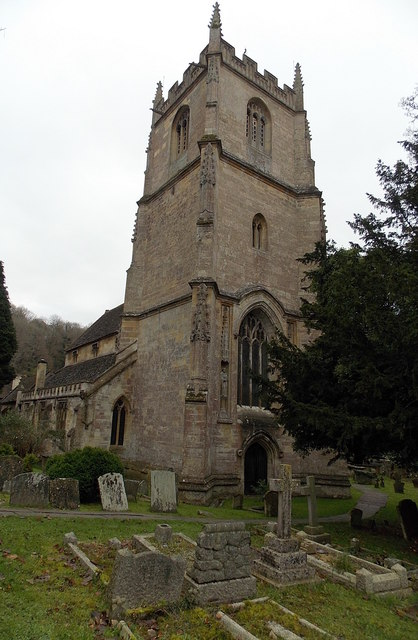 Tower of St Andrew's Church, Castle Combe